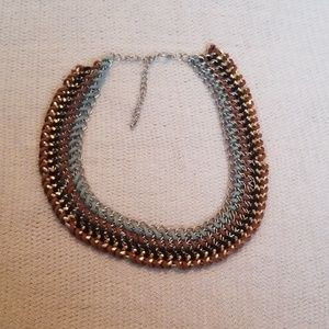 Jewelry - Natural colored bib necklace
